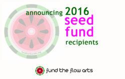 2016 Seed Grant Recipients